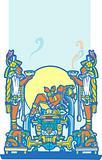 Reclining Maya 4