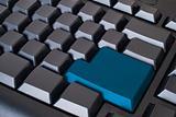 Blue Enter button