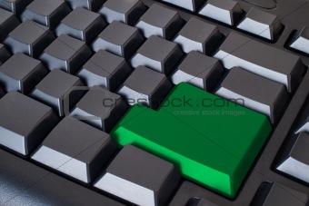 Green Empty Enter button