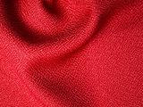 Red fabric sample