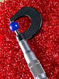 Micrometer with Beads and Balls
