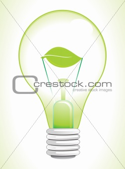 abstract eco bulb