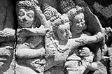 Hindu bas-relief