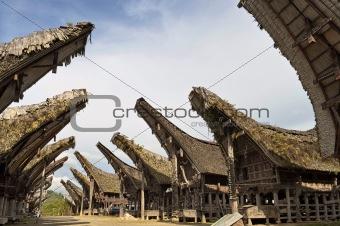 Toraja traditional village