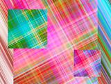 Color stripes and squares background
