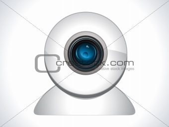 glossy web cam icon