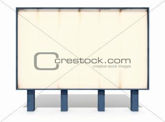 Old grunge billboard