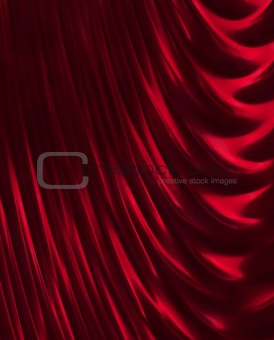 Crimson curtain