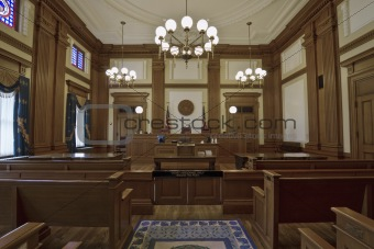Historic Building Courtroom 3