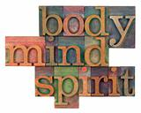 body, mind and spirit concept