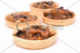 four cake nut mix