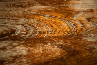 Background of wood in brown and yellow
