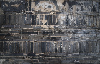Blck brick wall