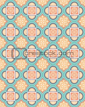 Arabesque Vector Background