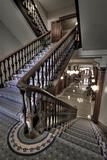 Old Staircase Into Hallway