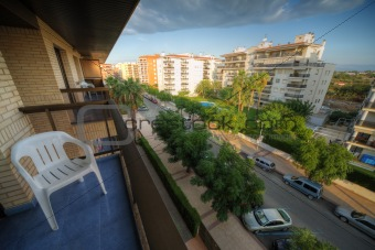 City view from above, Cambrils, Spain
