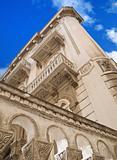 Historic building. Bari. Apulia.