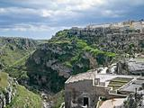 Landscape of Matera. Basilicata.