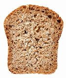 Cross-section of bread