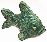sculpture ceramic fish