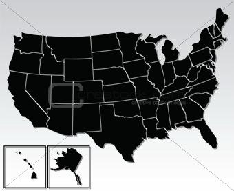 american map