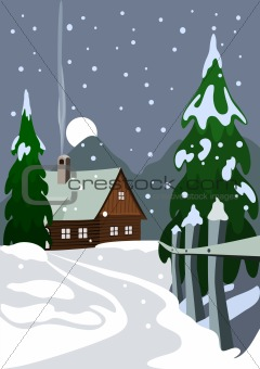 Set elements for Christmas design, vector illustration