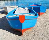 Close - up of boats at Monopoli touristic seaport. Apulia.