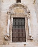The Lyon Portal. Basilica of St. Nicholas. Bari. Apulia. 