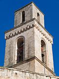 Belltower of the St. Vincenzo church. Monopoli. Apulia.