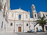Sanctuary of the Madonna del Carmine. Trani. Apulia.