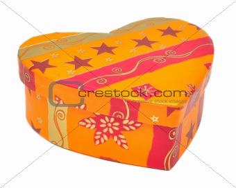 box in heart shape