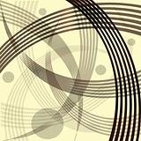 Abstract background with circles and lines