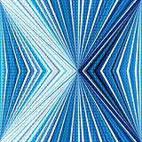 Abstract stripes with optical effect