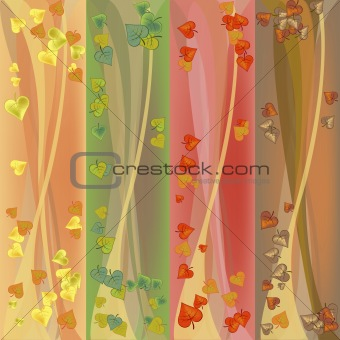 Autumn colorfull banners
