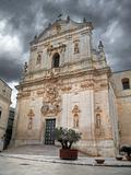 St. Martin Cathedral. Martina Franca. Apulia.