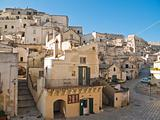 The Sassi of Matera. Basilicata.