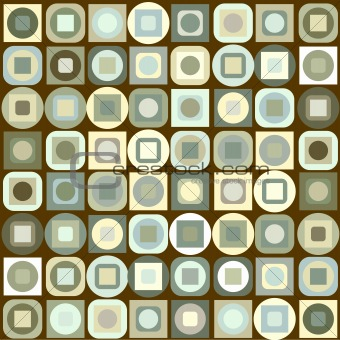 Background with beige geometrical shapes