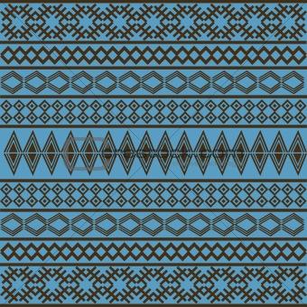 Blue African texture