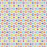 colored abstract pattern
