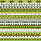 Green texture with African motifs