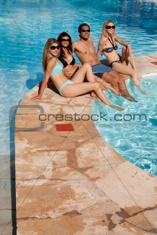Pool Friends Relax