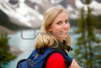 Active Woman Portrait