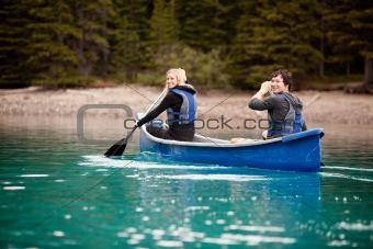 Canoe Adventure in Lake
