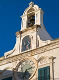 Clock tower. Polignano. Apulia.