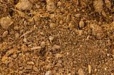 Close up of soil as a background