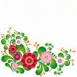 Colorful flower. Floral background. To see similar, please visit