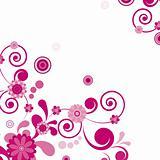 Vector. Pink flower. Floral background. To see similar, please v