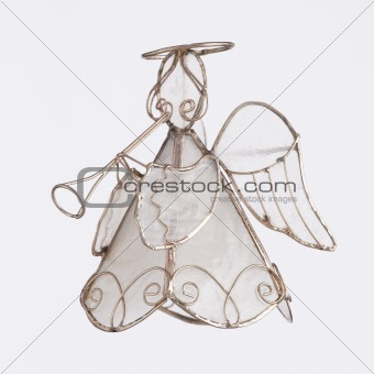 Angel Playing a Trumpet Ornament