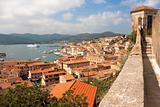 View Of Portoferraio From Forte Stella, Elba Island