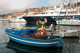 Fishing Boat At Portoferraio, Elba Island